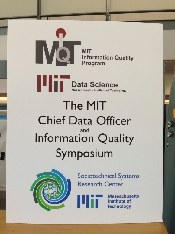 MIT Chief Data Officer & Information Quality Symposium, Cambridge, MA