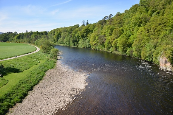 Fishing the Middle Spey at Craigellachie